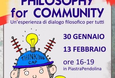 Philosophy for Community