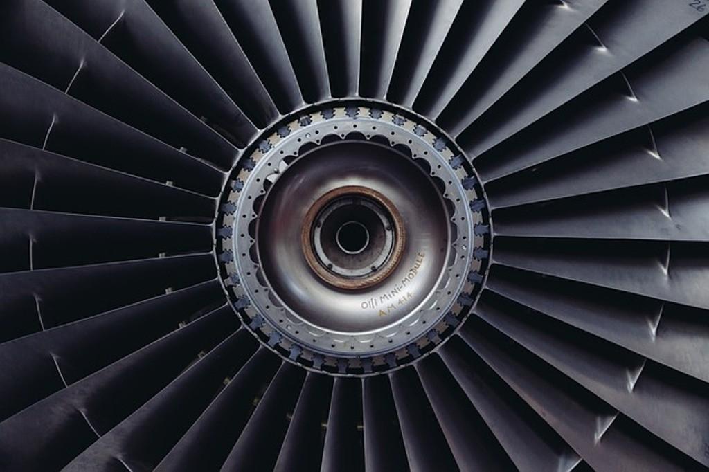 turbina di aereo