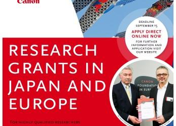 15 borse di ricerca per il Giappone