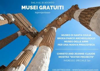 Ferragosto gratis ai Musei Civici di Brescia