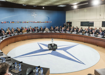 Giovani alla NATO di Bruxelles