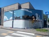 A Borgosatollo, anche quest'anno, Biro ti insegna a fare un murale