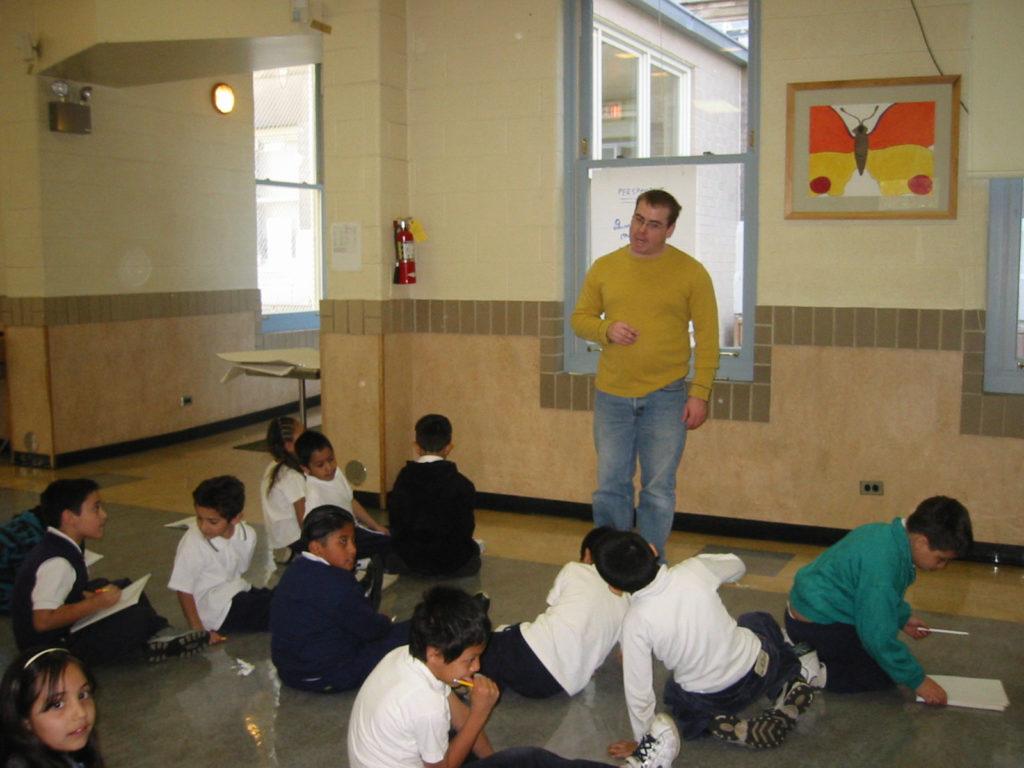 Teaching Poetry to Kids @ Hayt School, Chicago