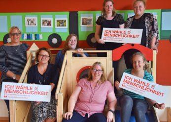 2 volontari Caritas in Germania