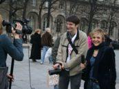 Studenti di giornalismo e laureati a Bruxelles