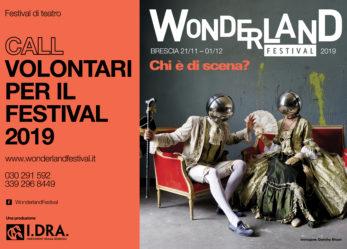 Wonderland Festival 2019 cerca volontari