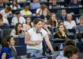 8 giovani reporter all'European youth event 2020