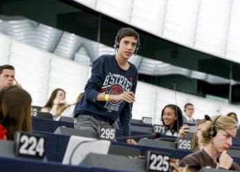 Giovani a Strasburgo per l'Europa