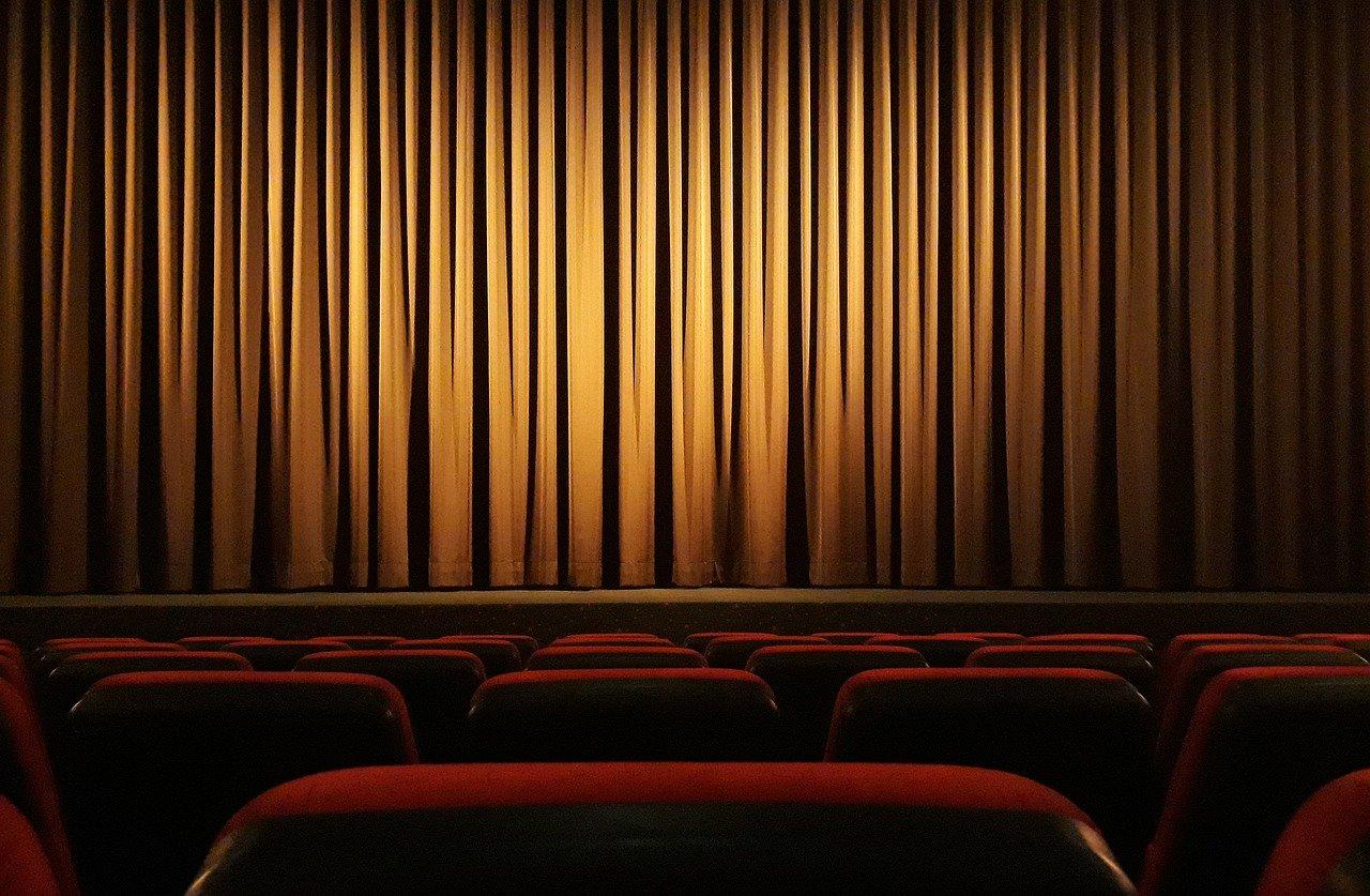 sala di cinema vuota