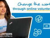 Volontariato da casa con UNV Online Volunteering service