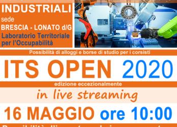 Corso ITS Automazione e sistemi meccatronici industriali – Open day in streaming