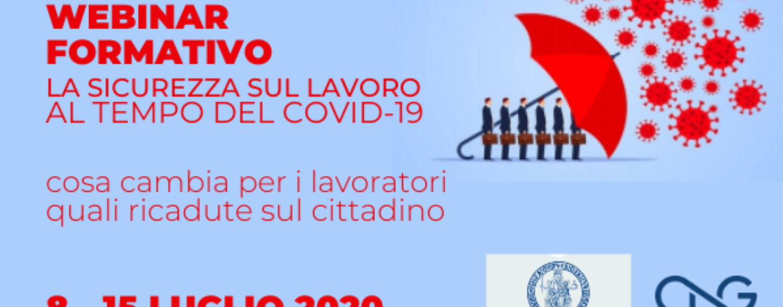 Sicurezza sul lavoro al tempo del Covid-19