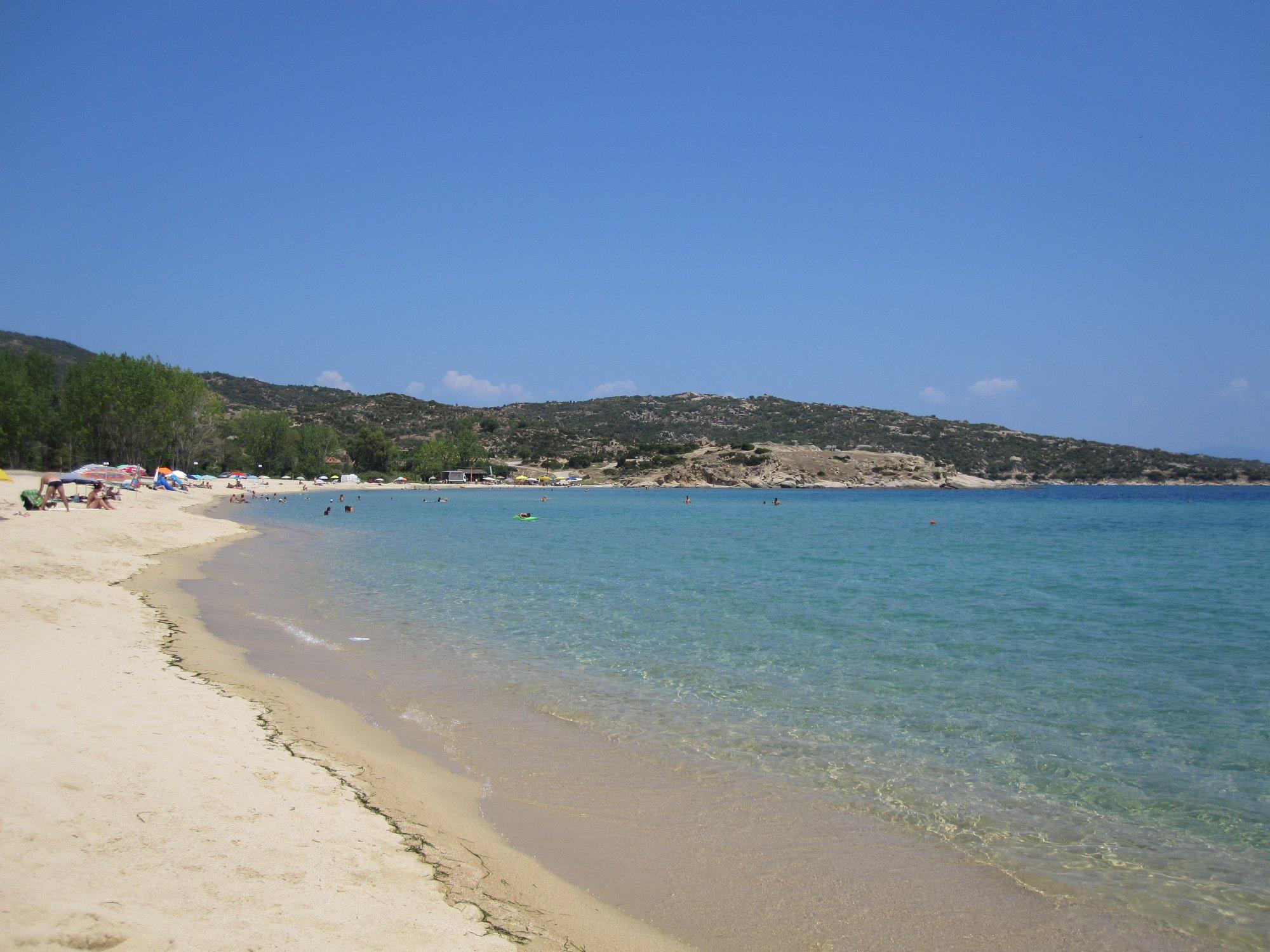 spiaggia penisola calcidica