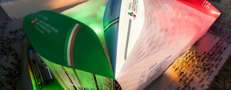 Volontarie e volontari a Dubai per Italy Expo