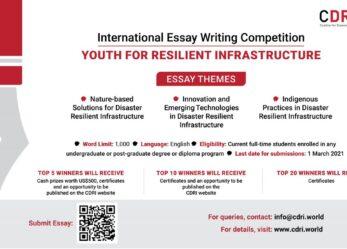 Scrivi un saggio per infrastrutture resilienti