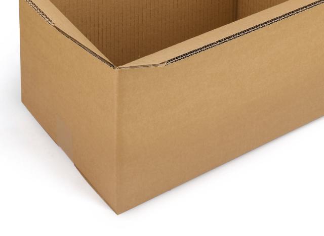 dettaglio scatola cartone