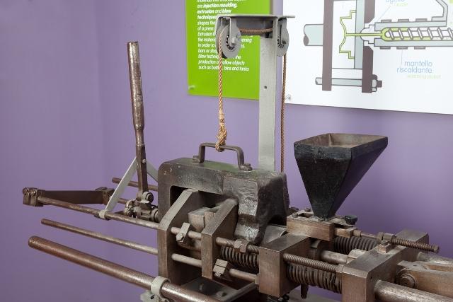 pressa conservata al museo della tecnologia di Milano