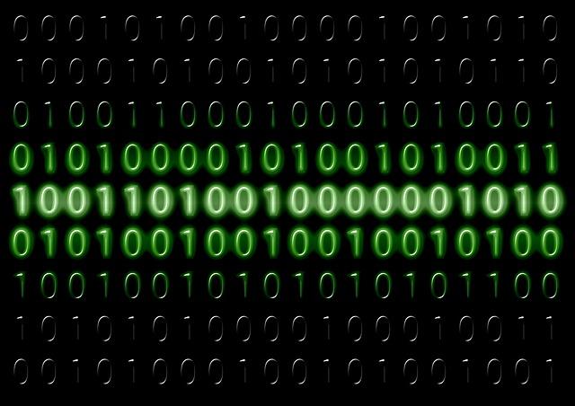 programmazione: codice binario