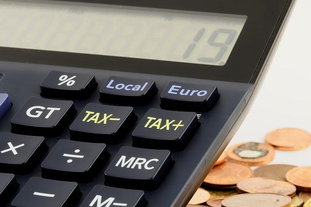 monetine e calcolatrice