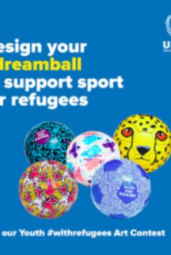 Disegno e sport per i rifugiati