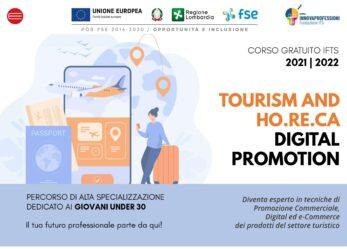 Webinar di presentazione del corso post diploma gratuito IFTS Tourism e HoReCa Digital promotion