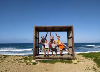 Camping sport adventure in Grecia