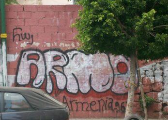 Street art in Armenia