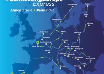In treno attraverso l'Europa