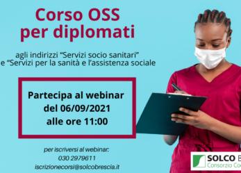 Webinar di presentazione del corso OSS per diplomati con riconoscimento crediti formativi